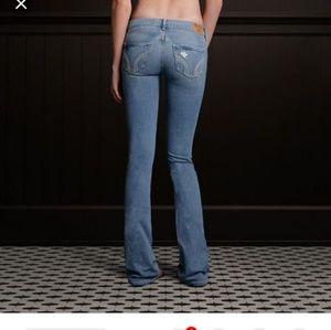 Light blue denim Hollister jeans